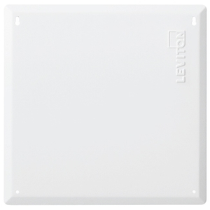 "ON-Q EN1420 Media Enclosure, Cover, 14"" Flush Mount, 14""H x 14.3""W x 0.20""D"