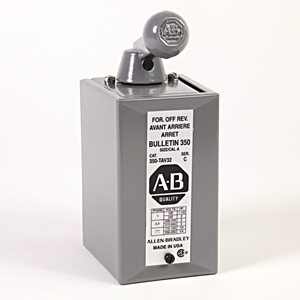 Allen-Bradley 350-TAV32 Switch, Reversing Drum, Surface Mount, Size A, No Interlock
