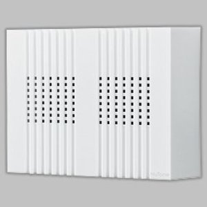Nutone LA126WH Wired Chime, Type: Decorative Molded Plastic Cover, 2-Note Chime