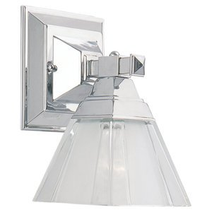 Sea Gull 41040-05 Wall Fixture, 1 Light, Chrome