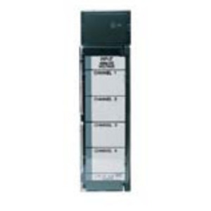 GE Industrial IC693ALG221 I/O Module, Analog Input, Current 4 Channel, 0-20mA/4-20mA