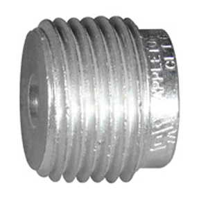 "Appleton RB400-350A Reducing Bushing, Threaded, 4"" x 3-1/2"", Aluminum"