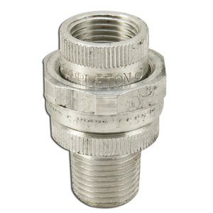 "Appleton UNY50NR-A Union, Male/Female, 1/2"", Explosionproof, Aluminum"