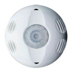 Leviton OSC20-RMW Occupancy Sensor, Ultrasonic, Ceiling Mount, 360°