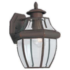 Sea Gull 8038-71 Lantern, Outdoor, 1 Light, 100W, Antique Bronze