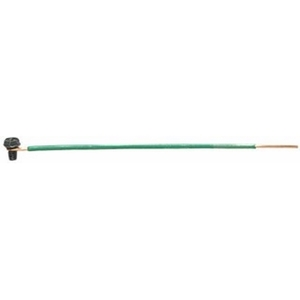Ideal 30-3404 Grounding Pigtail, Green, 12 AWG, Length: 6.5""