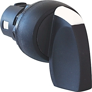 Allen-Bradley 800FM-HM22MX10 Selector, Switch, 2-Position, Maintained, Metal, Knob Lever, 1 NO
