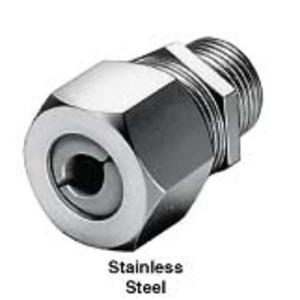 "Hubbell-Kellems SHC1037SS Cordcon, Str Ml, .63-.75"", 3/4"", Ss"