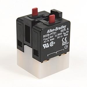 Allen-Bradley 800B-PT02 800B 16 MM PUSH-BUTTON