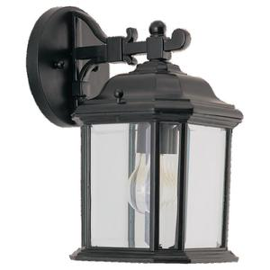 Sea Gull 84029-12 Lantern, Outdoor, 1 Light, 100W, Black