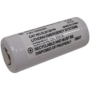 Lithonia Lighting ELB1201N Replacement Battery For Emergency Lighting Unit