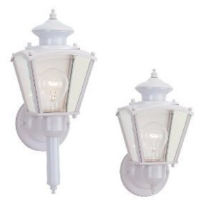 Sea Gull 8503-15 1l Wall Lantern White