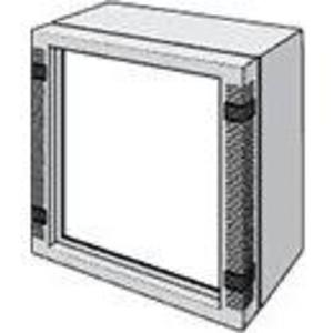 "Hoffman LFP2525 Front Plate For HMI Enclosure System, 9.16 x 8.34"", Aluminum"
