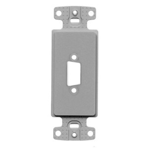 Hubbell-Premise ISFB15GY PLATE, DECORATOR 15PIN