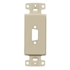 Hubbell-Premise ISFB15EI PLATE, DECORATOR 15PIN