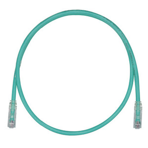 Panduit UTPSP1GRY Copper Patch Cord, Cat 6, Green UTP Cabl