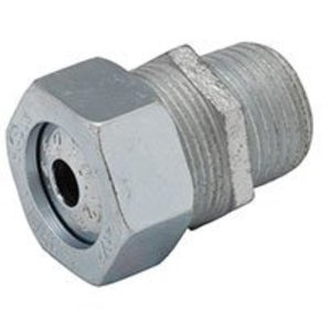 """Hubbell-Raco 3703-1 Cord Grip Connector, Strain Relief, 3/4"""", Steel"""