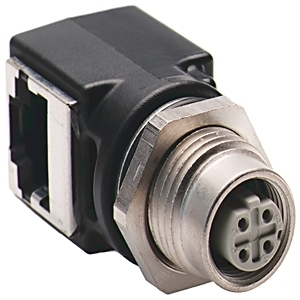 Allen-Bradley 1585A-DD4JD Controller, Communications Adaptor, Female M12 To RJ45 Female