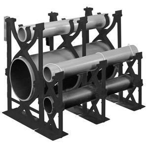 "Carlon S288LLN Base Spacer, Type: Snap-Loc, Size: 3"" x 3"", Material: Non-Metallic"