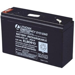 Lithonia Lighting ELB0610 Replacement Battery