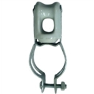 PPC Insulators 6516 Wire Holder, 2-1/2 Inch, Clamp Type, Porcelain.