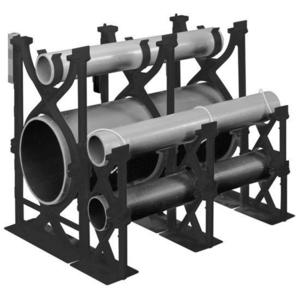 "Carlon S288JJN Base Spacer, Type: Snap-Loc, Size: 2"" x 2"", Material: Non-Metallic"