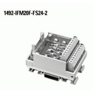 Allen-Bradley 1492-IFM20F-FS24-2 Interface Module, Digital, 20 Point, 24V AC/DC, Blown Fuse Ind.