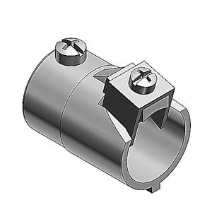 "Thomas & Betts 503-TB EMT Combination Coupling, 1/2"", EMT to MC/AC/FLEX, Zinc Plated"