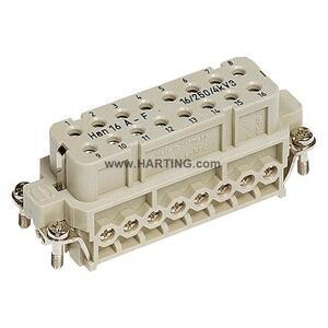 Harting 9200162812 HAN A 16 POS. F