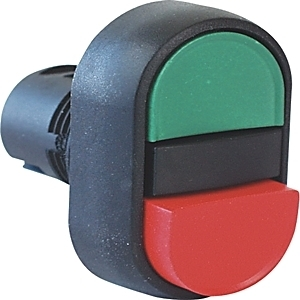 Allen-Bradley 800FP-U2E4F3 Push Button, Multi-Function, Momentary, 2-Position, Red/Green