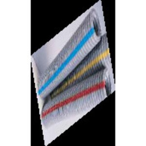 "Kraloy 12034 ENT, Gray w/ Blue Stripe, 1"", 10' Piece"