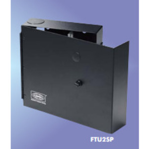 Hubbell-Premise FTU2SP Enclosure, Wall Mount, Single Door, 2RMU, o Splice Tray Capacity