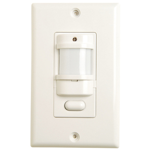 Hubbell - Building Automation IWSZP3PI Occupancy Sensor, Infrared, Wall Mount, 180 Degree, Ivory