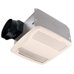 Nutone QTXEN110S Humidity Sensing Fan, Energy Efficient, 110 CFM