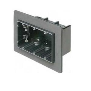 "Arlington F103F Switch Box, 3-Device, 3-1/2"" Deep, Non-Metallic"