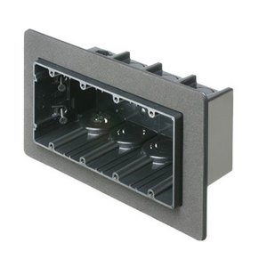 "Arlington F104F Switch Box, 4-Device, 3-1/2"" Deep, Non-Metallic"