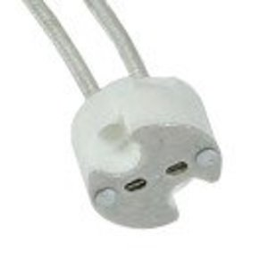 "Elite Lighting BP51 Socket, MR16, 6"" Leads"