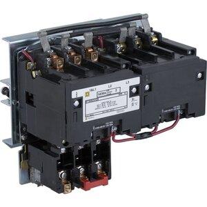 Square D 8736SDO2V02S Starter, Size 2, 45A, 600VAC, 120VAC Coil, Reversing, Open, 3P