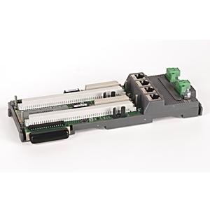 Allen-Bradley 1715-A2A I/O System, Redundant, Adapter Base, for 2 x 1715-AENTR