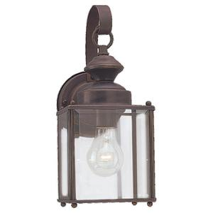 Sea Gull 8457-71 Lantern, Outdoor, 1 Light, 100W, Antique Bronze