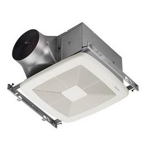 Broan ZB80 Ultra Multi-Speed Energy Star Fan, 30 CFM To 80 CFM