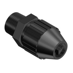 "Thomas & Betts 2690 Liquidtight Connector, 1/2"", Straight, Non-Metallic"