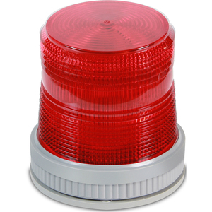 Edwards 105XBRMR24D Mult-Mode Beacon, LED, 24V DC, Red, NEMA 4X