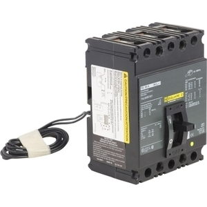 Square D FAL340501021 Breaker, Molded Case, 3P, 50A, 480VAC, 250VDC, F Frame, Shunt Trip