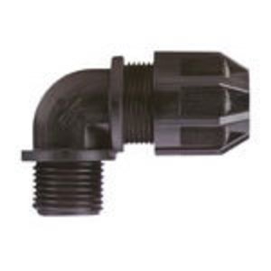 "Thomas & Betts 2682 Liquidtight Cord Connector, 90°, 1/2"", Nylon"