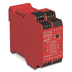 Allen-Bradley 440R-M23143 Relay, Single Function, Safety, with Delayed Outputs, 24V AC/DC