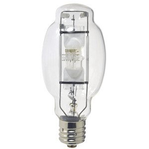 Damar 26580B Metal Halide Lamp, Pulse Start, BT28, 400W, Clear