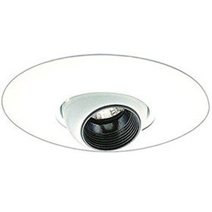 Elco Lighting EL2517W 6IN LV EYEBALL TRIM