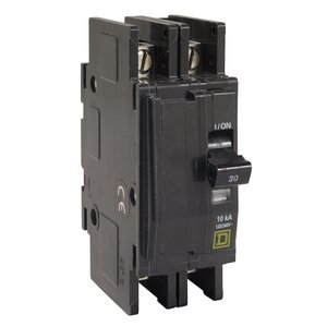Square D QOU260 Breaker, Lug In/Lug Out, 2P, 60A, 120VAC, Type QO, 10kAIC
