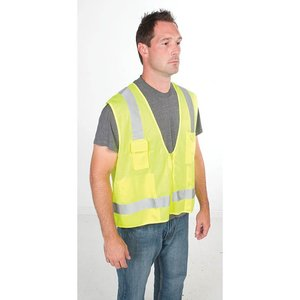 Greenlee 01761-03XL Vest, Hi-Vis Surveyor, Class 2, 2XL/3XL